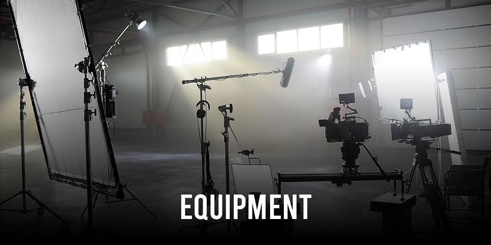 spain film studios servicios Equipment